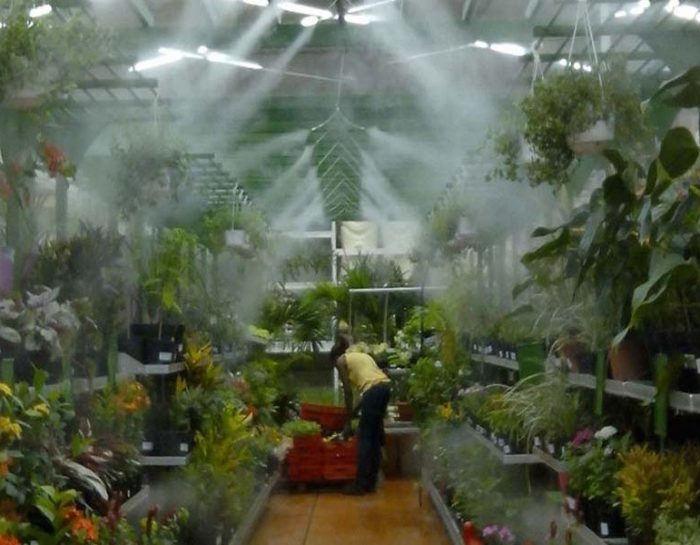 Greenhouse Misting System