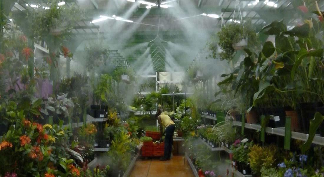 Greenhouse Misting System